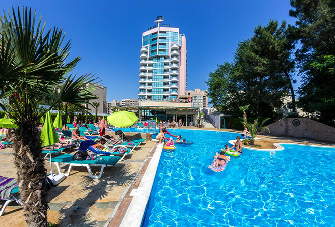Красивый отель в Болгарии