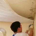 Сколько в среднем стоит натянуть натяжной потолок