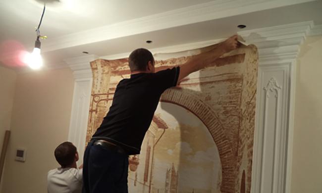 Наклейка фрески
