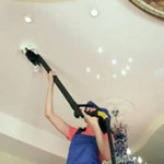 Сколько стоит помыть натяжной потолок?