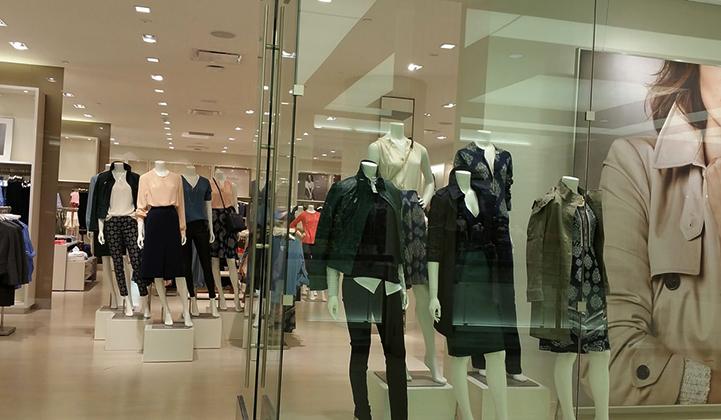 Новый магазин одежды