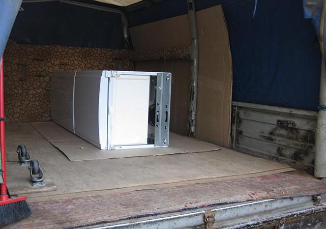 Перевозка в грузовом автомобиле