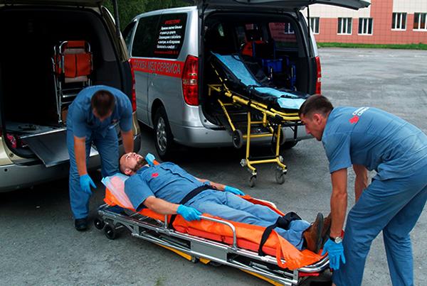 Перевозка лежачего больного