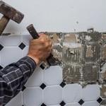 Во сколько обойдется демонтаж старой плитки?