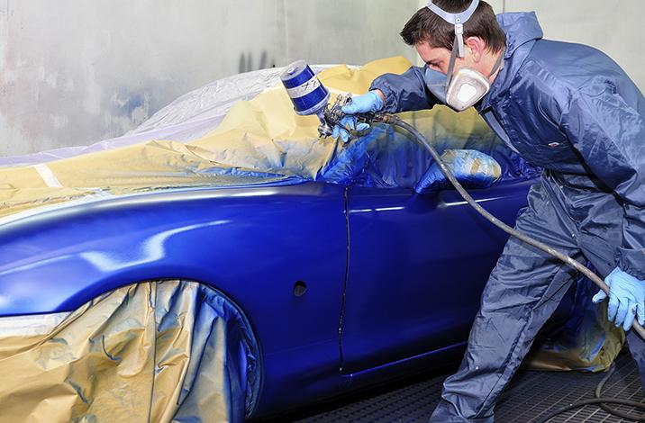 Полная перекраска автомобиля
