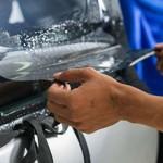 Сколько стоит снять тонировку стекол с машины?