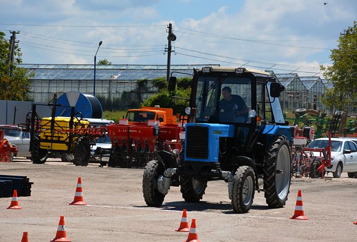 Практика на тракторе