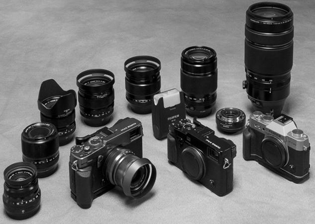 Несколько фотоаппаратов