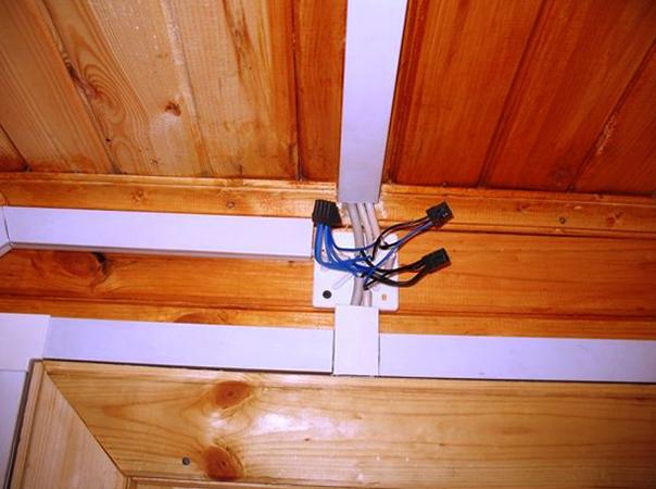 Проводка в деревянном доме
