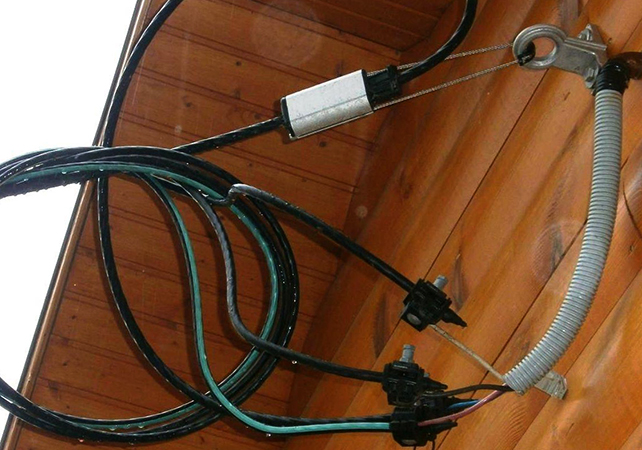 Проводка электричества в частный дом