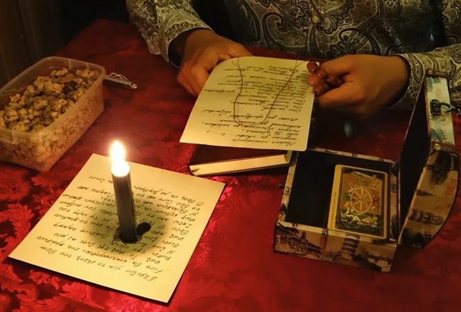 Ритуал снятия порчи