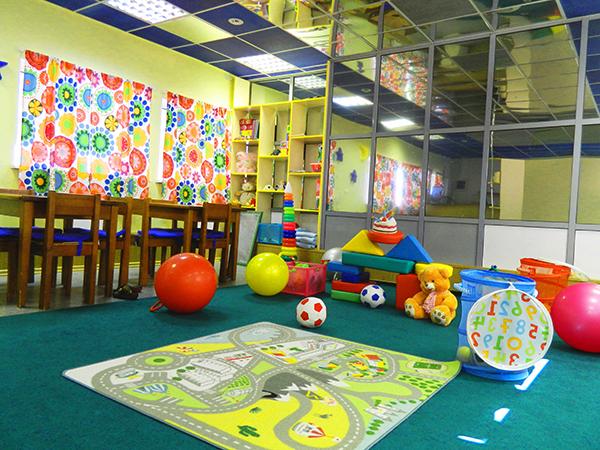Современная детская игровая комната