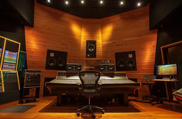 Новая студия звукозаписи