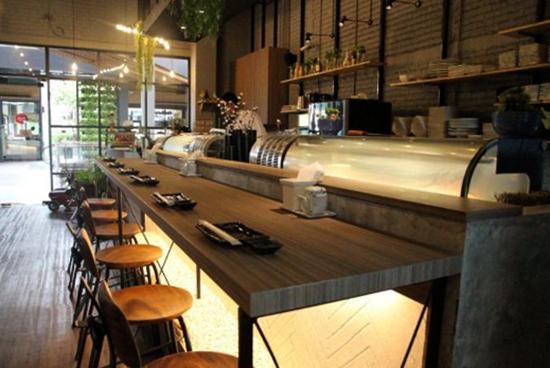 Новый суши-бар