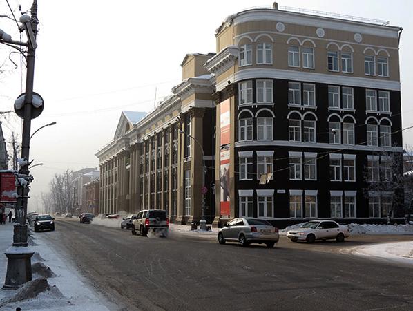 Улица в Иркутске