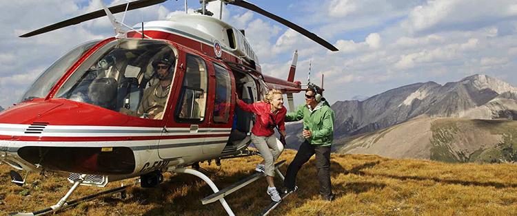 Выход из вертолета