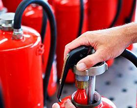 Сколько в среднем стоит заправить порошковый огнетушитель