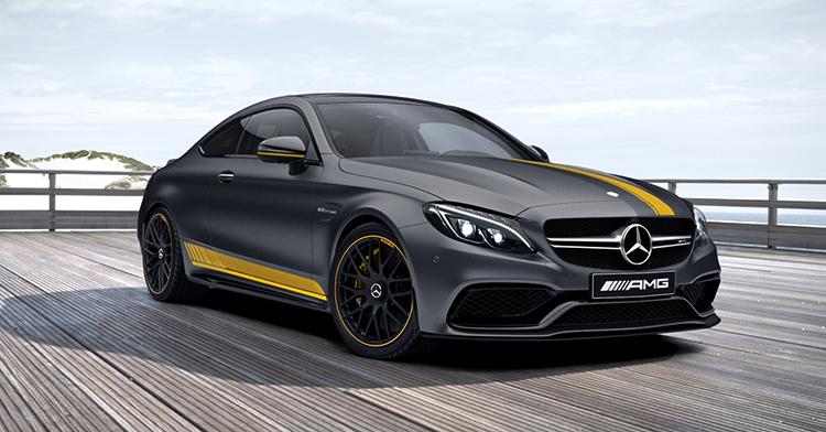 Красивый Mercedes-AMG