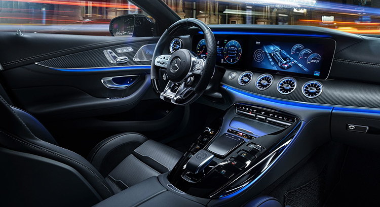 Салон Mercedes-AMG