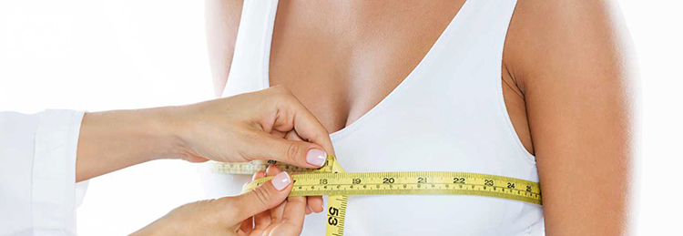 Измерение груди