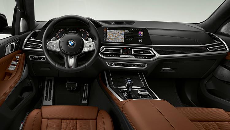 Салон BMW X7