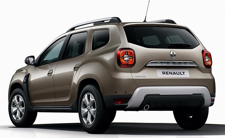 Renault Duster сзади