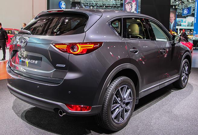Mazda CX-5 сзади