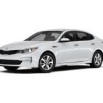 Сколько в среднем стоит автомобиль Kia Optima?