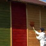 Сколько в среднем стоит покраска дома снаружи