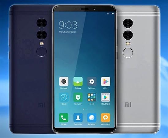 Вид смартфона Xiaomi Redmi Note 5