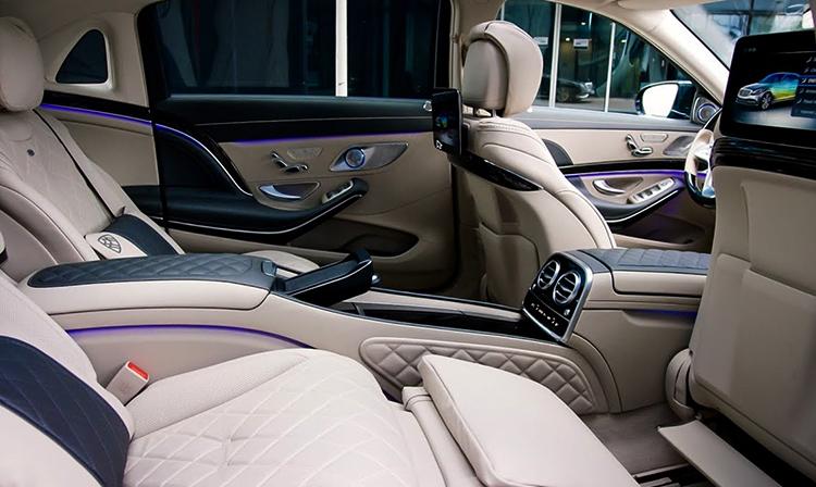 Салон Mercedes-Maybach