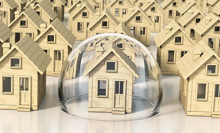 Застрахованный дом