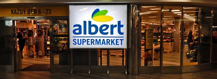 Супермаркет «Albert»