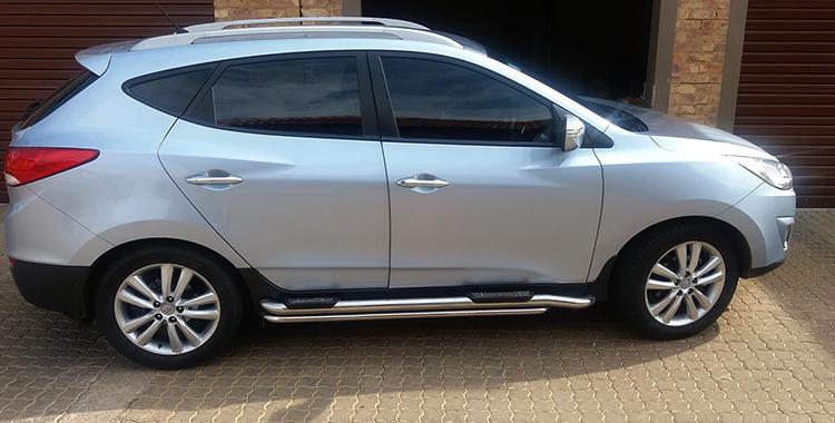 Hyundai ix35 в профиль