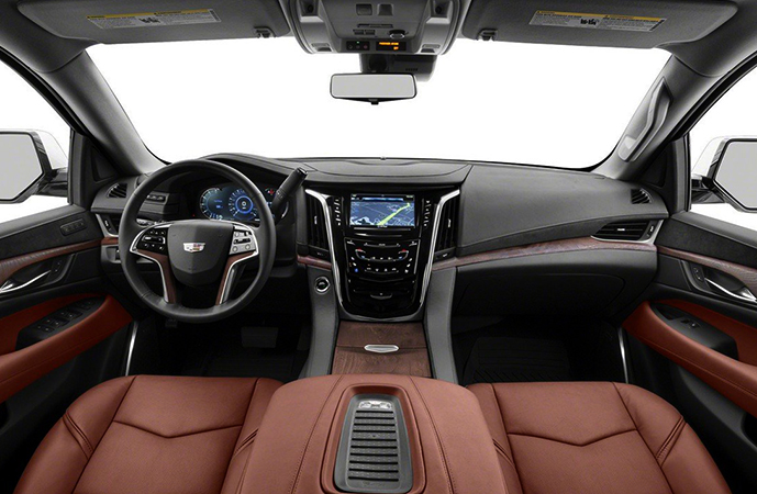 Салон Cadillac Escalade