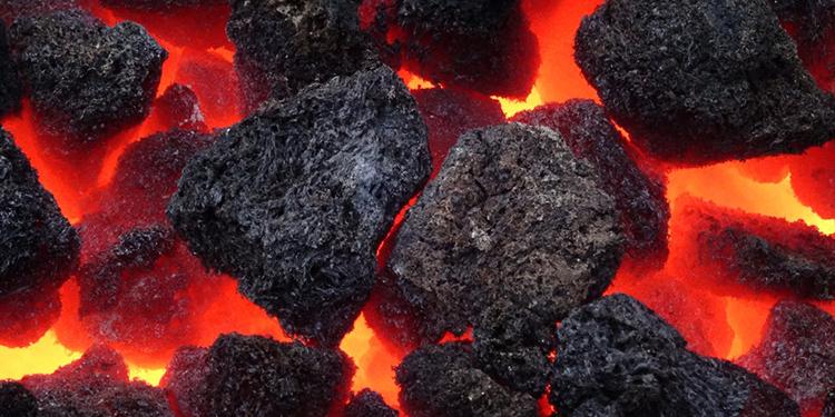 Сгорание каменного угля