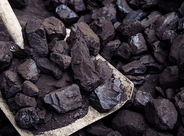 Лопата с углем