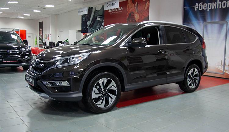 Honda CR-V в салоне