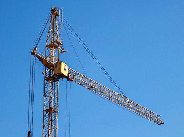 Новый башенный кран