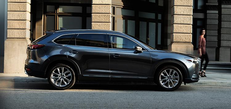 Mazda CX-9 в профиль
