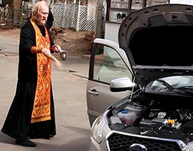 Сколько стоит освятить машину в церкви?