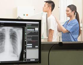 Сколько в среднем стоит рентген позвоночника