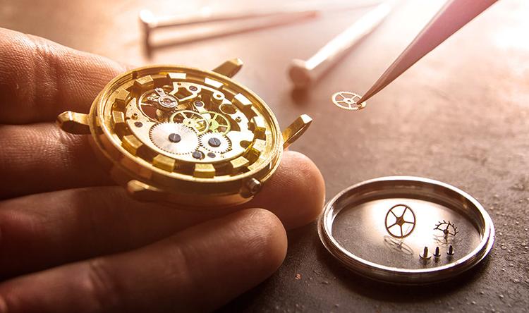 Часы на ремонте