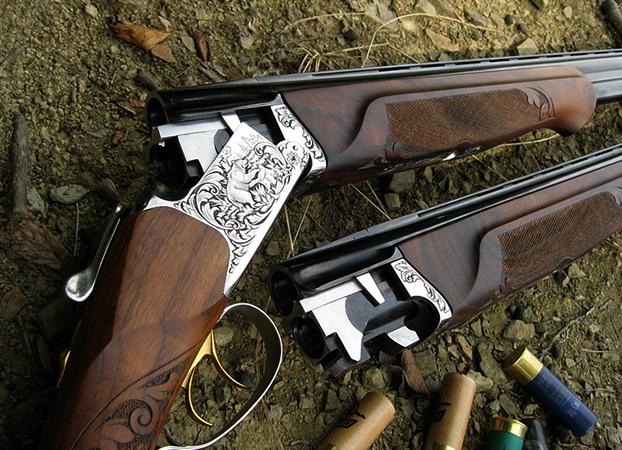 Ружье перед охотой