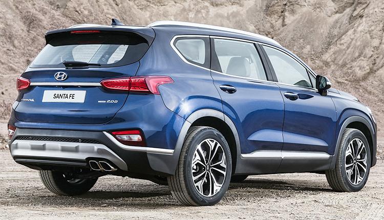 Вид Hyundai Santa Fe