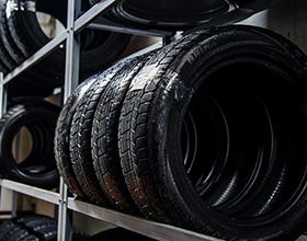 Сколько стоит сезонное хранение шин