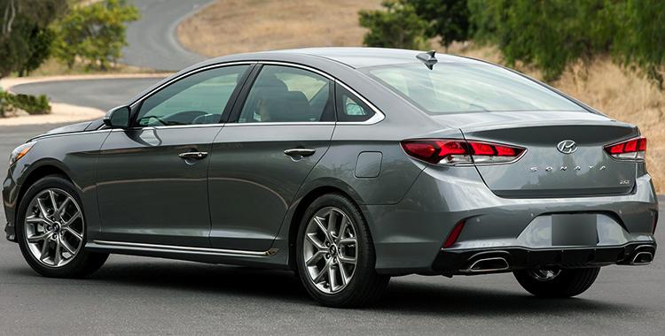 Вид Hyundai Sonata