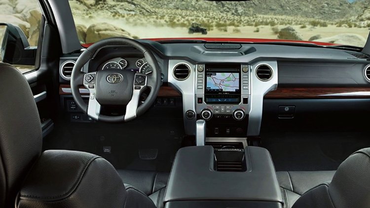 Салон Toyota Tundra