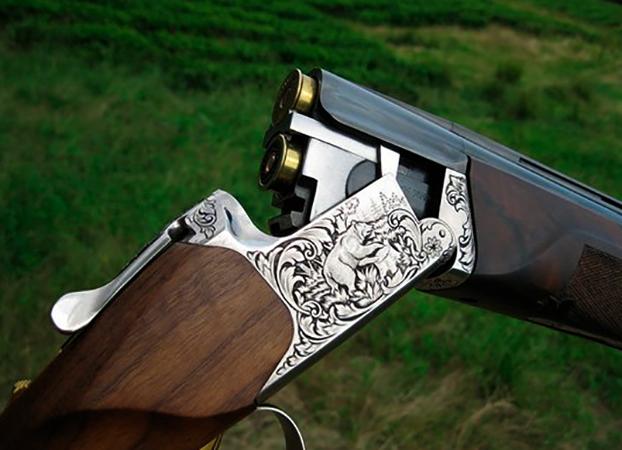 Вид ружья ИЖ-27