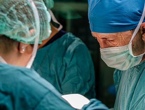 Врачи во время процедуры